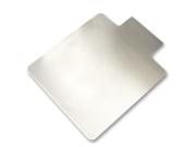 "Low Pile Chairmat, Standard 36""x48"", Lip 19""x10"", Clear LLR69157"