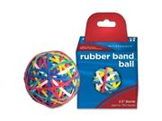 Alliance Rubber Rubber Band Ball 6 EA/BX
