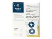 Business Source CD/DVD Laser/Inkjet Label 100 EA/PK