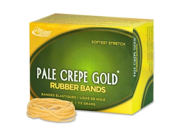 Alliance Rubber Pale Crepe Gold Rubber Bands 669 EA/BX