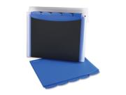 """Wilson Jones 68590 Project File 8.50"""" Width x 11"""" Length Sheet Size - 40 Sheet Capacity - Black - 1 Each"""