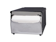 Georgia-Pacific MorNap Cafeteria Model Napkin Dispenser  - Steel - Black