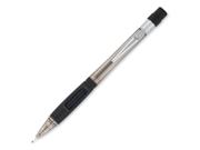 Pentel Quicker Clicker Mechanical Pencil #2, HB Pencil Grade - 0.9 mm Lead Size - Smoke Lead - Smoke Barrel - 1 Each