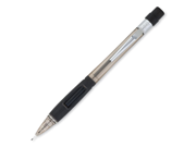 Pentel Quicker Clicker Mechanical Pencil #2, HB Pencil Grade - 0.7 mm Lead Size - Smoke Lead - Smoke Barrel - 1 Each