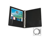Business Source Round Ring Presentation Binder 1 EA
