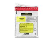 MMF Industries MMF2362010N06 Deposit Bag- Water-Tear Resistant- 9in.x12in.- 100-PK
