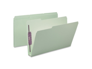 Smead Manufacturing Company SMD19934 Top-Tab Folder- 2 Fasteners- 2in. Exp- Legal- Green