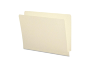 Smead Manufacturing Company SMD24113 Anti-Microbial Folder- 11Pt- End Tab- Letter-Size- Manila