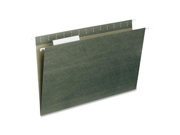 Smead Manufacturing Company SMD64135 Hanging Folder- .33 Tab Cut- Legal- Standard Green