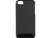 SCOSCHE rawHIDE Black Polycarbonate Case w/ Genuine Leather Exterior for iPhone 5 IP5LBK