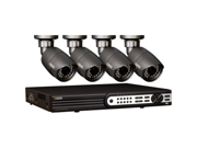 Q-see QT704-480-1 8 Channel HD SDI DVR w/1TB HDD, 4 x 1080P Night Vision Cameras