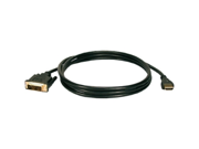 QVS HDMI Male to DVI Male HDTV/Flat Panel Digital Video Cable