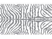 RESORT collection,  25354D, ZEBRA GREY 5X8 Rug