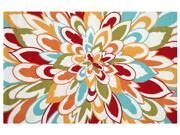 RESORT collection,  25352D, BLOOM 5X8 Rug