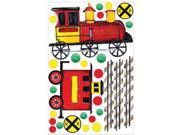RoomMates All Aboard! Peel & Stick MegaPack Wall Decals