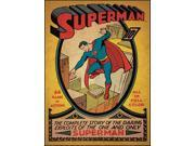 RoomMates Comic Book Cover - Superman Issue #1 Peel & Stick Comic Book Cover