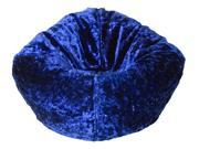 Ace Bayou Luxury Royal Blue Chenille Bean Bag