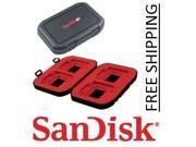 Sandisk Flash Memory Card Case Holder  (P/N: SDAC-13)