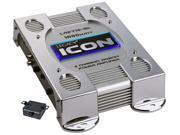 2 Channel 1000 Watt Bridgeable Mosfet Amplifier (Silver)
