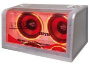Legacy - Dual 10'' 1000 Watt Bandpass System w/Neon Woofer Lights