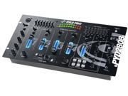 PylePro - 19'' Rack Mount 4 Channel Professional Mixer with Digital Echo and SFX (Refurbished)