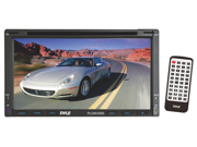 Pyle - 6.95'' Double-DIN Touchscreen Video DVD/MP4/MP3/CD Player With Hands-Free Bluetooth, GPS w/USA/Canada/Mexico Maps, USB/SD, Aux-In