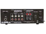 PyleHome - Mini 2x40 Watt Stereo Power Amplifier w/ USB/AUX Inputs (Refurbished)