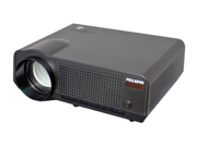 PylePro - High-Definition LED Widescreen Projector with Up To 120-Inch Viewing Screen, Built-In Speakers & Supports 1080p