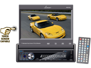 Lanzar - 7'' Motorized Touch Screen TFT/LCD Monitor With DVD/CD/MP3/MP4/AM/FM Player (Refurbished)
