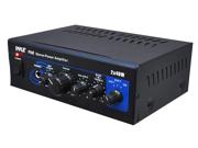 PyleHome - Mini 2X40W Stereo Power Amplifier (Refurbished)
