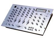 Pyramid - 4 Channel Rack Mount Dj Stereo Mixer W/ 6 Built-In Drum Effects & Digital Echo