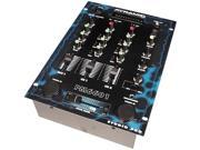 Pyramid - 2 Channel 4 Source Stereo Dj Mixer W/Punch Effect