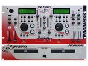 PylePro - Professional Dual CD Player with Full Featured Mixer