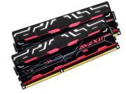 AVEXIR Blitz 1.1 Series Original (White LED) 8GB Kit (2 x 4GB) Dual Channel 240-pin DDR3 SDRAM DDR3 2400 (PC3 19200) Desktop Memory Module Model AVD3U24001004G-2BZ1