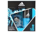 Adidas Ice Dive by Adidas for Men - 2 Pc Gift Set 3.4oz EDT Spray, 5oz Deodorant Spray