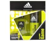 Adidas Pure Game by Adidas for Men - 2 Pc Gift Set 3.4oz EDT Spray, 5oz Deodorant Spray
