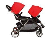 Contours Options LT Tandem Stroller (Crimson)