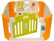 Friendly Toys Little Playzone with Deluxe Playcenter (Beige/Orange)