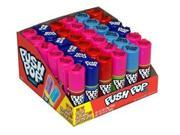 Topps push pop fruit frenzy candy - 24 pieces/pack