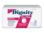 "Dignity Fitted Briefs Small 20""-31 Ultrashield 8x12"