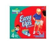 Pampers Easy Ups Boys, Size 4, 26-Count