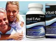 Naturade Vitali-T-Aid Energy Natural Free Testosterone Booster, 60 Caps