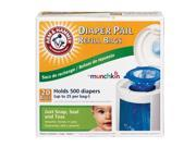 Munchkin Arm & Hammer Diaper Pail Refill Bags, 20-Count