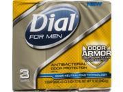 Dial For Men Odor Armor Antibacterial Soap Bars - 3 CT