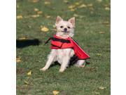 PortablePet Dog Canine Life Vest - Red - Small