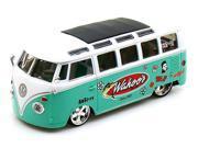"""Volkswagen Van """"Samba"""" Wahoo 1/25 Green/white"""