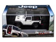 Greenlight 1/43 Jeep Rubicon 2013 10th Anniversary White