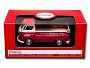 Motor City Classics Coca Cola 1/43 Volkswagen T1 Pickup Red