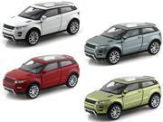Set of 4 - Land Rover Range Rover Evoque 1/38