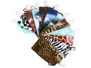 12 Foldable Water Bottles Reusable Collapsible w/ Carabiner Outdoor Sports Pouch
